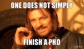 How to spot a late-stage PhDstudent