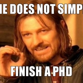 How to spot a late-stage PhD student